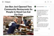 Kisah Jon Bon Jovi yang Beri Makan Kaum Papa Melalui Restoran