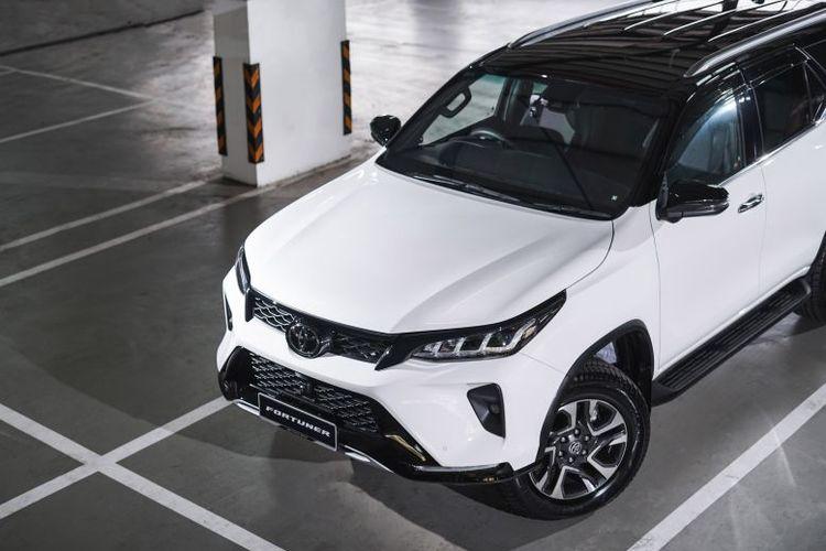 Toyota Fortuner facelift meluncur di Malaysia.