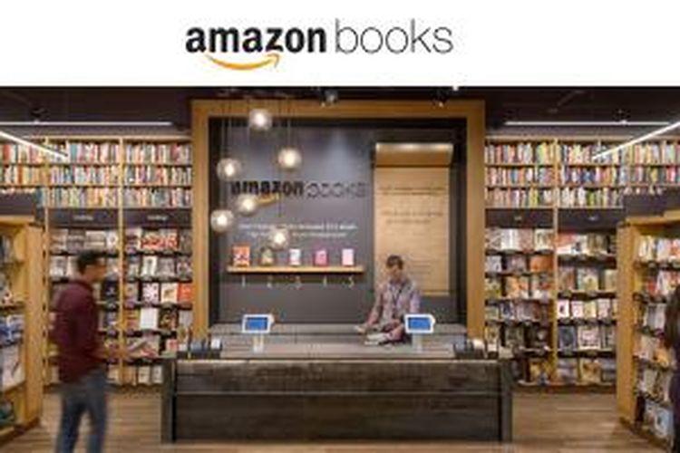 Ini toko fisik pertama Amazon, Amazon Books