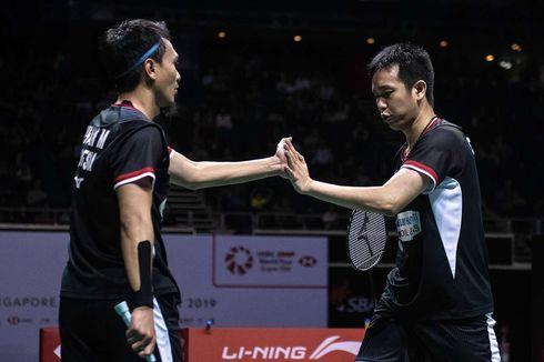 Hasil Indonesia Open 2019, Ahsan/Hendra Melangkah ke Babak Kedua
