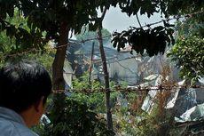 Tim Penjinak Bom Periksa Lokasi Ledakan Gudang Bahan Peledak