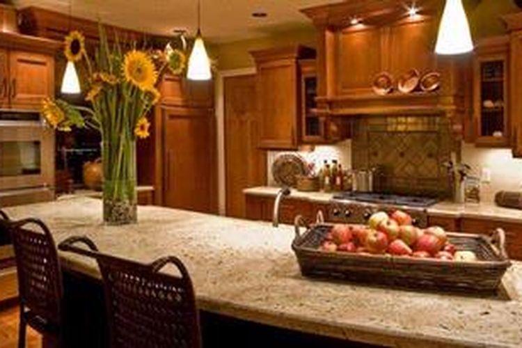 Desain Dapur Sempit Memanjang  pilah pilih aneka bentuk dapur