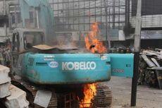 2 Tersangka Pembakar Alat Berat di Kampung Pulo Terancam 7 Tahun Bui