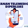 INFOGRAFIK: Layanan Telemedicine Diperluas di 8 Kota