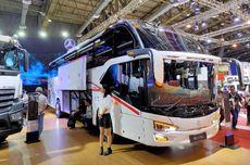 Bus dengan Bagasi Tembus Bersasis Khusus