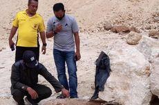 Seorang Warga Kendari Temukan Mortir yang Masih Aktif