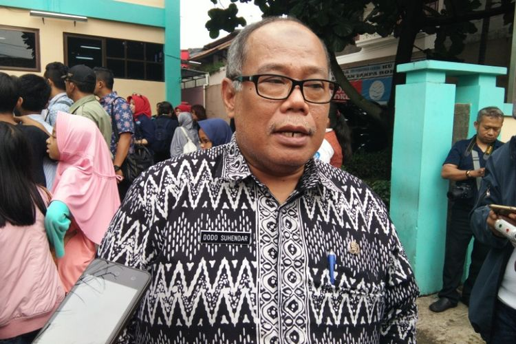 Kepala Dinas Kesehatan Provinsi Jawa Barat Dodo Suhendar saat ditemui di Puskesmas Garuda, Bandung, Kamis (14/12/2017).