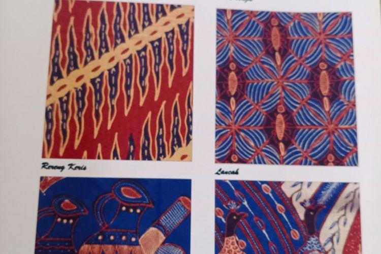 Corak batik garutan yang diproduksi di Gerai Batik SHD