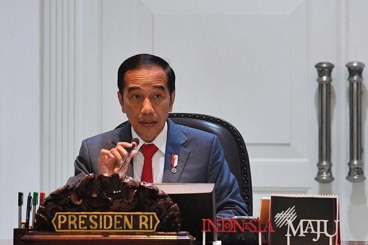 Jokowi: Bangsa Sedang Diuji, Kita Bersyukur Pancasila Tetap Jadi Bintang Penjuru