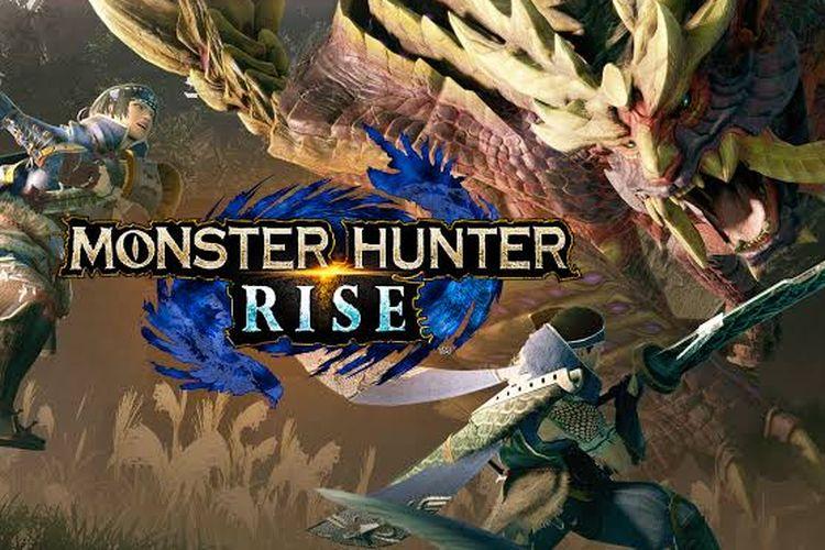 Poster Monster Hunter Rise.