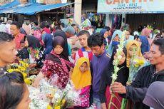 Tradisi Lebaran di Kendal, Setelah Sahur Terakhir, Warga Berbondong-bondong Beli Bunga
