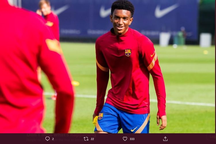 Pemain Barcelona U19, Alejandro Balde