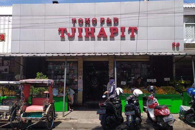 Kawasan Pasar Cihapit.