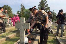 HUT ke-73 Bhayangkara, Kapolri Ziarah ke Taman Makam Pahlawan Kalibata