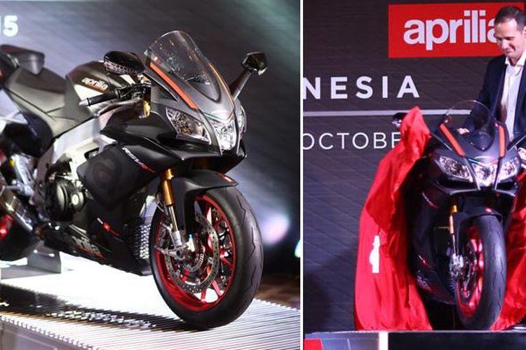 Aprilia RSV4 RR Race PAck diluncurkan oleh PT Piaggio Indonesia, menggaet konsumen yang ingin tampil beda dengan merek Italia.