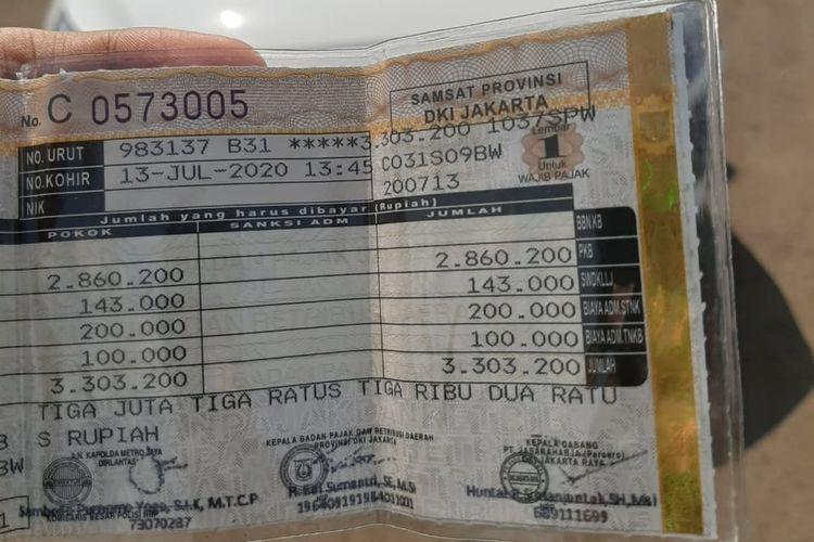 Daftar pajak Hyundai Ioniq