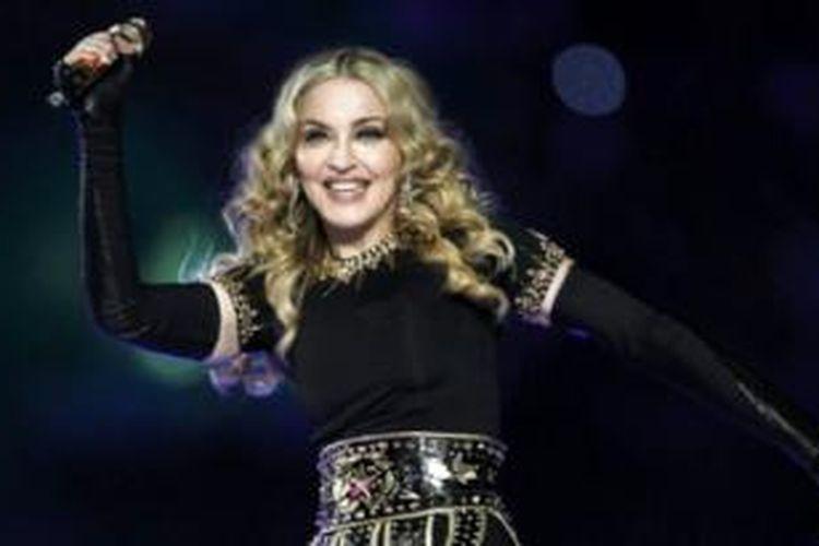 Madonna sempat berada di ruang tunggu di pengadilan di New York selama dua jam.
