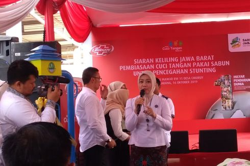 Atalia Ridwan Kamil Akui Angka Stunting di Jawa Barat Cukup Tinggi