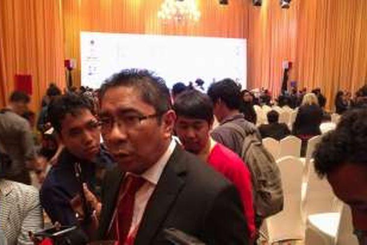 Direktur Utama Pelindo II Elvyn G Masasya di Sela-sela Acara WIEF 2016