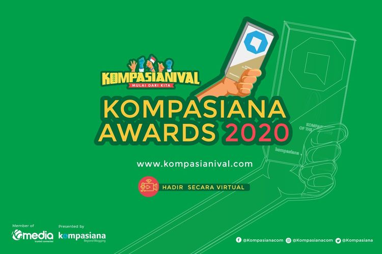 Ajang ini merupakan penghargaan tahunan khusus bagi Kompasianer dengan blog paling berkualitas dan berkuantitas sepanjang 2020.