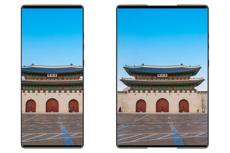 Dengan layar gulungnya, LG Rollable bisa berubah ukuran menjadi serupa tablet.