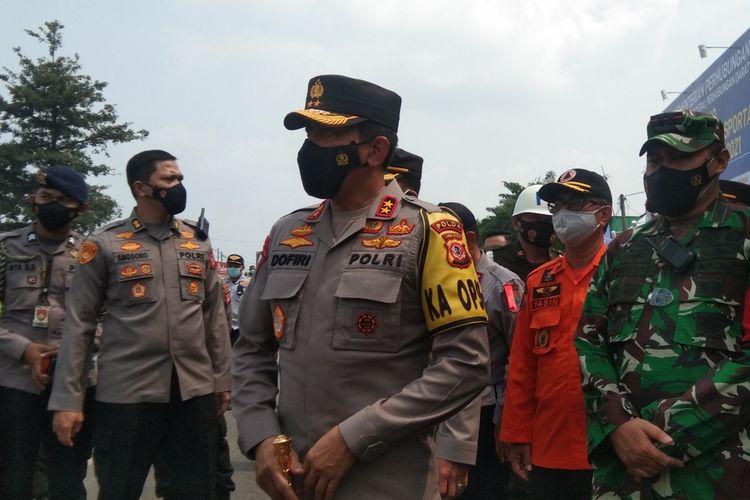Kepala Polisi Daerah (Kapolda) Jawa Barat Irjen Pol Ahmad Dofiri