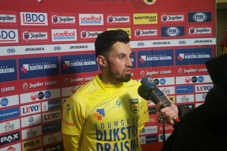 Stefano Lilipaly berbicara setelah Cambuur SC menang 3-0 atas tamunya Dordrecht pada partai lanjutan Eerste Divisie, Sabtu (28/1/2017).