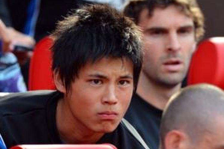 Gelandang Arsenal asal Jepang, Ryo Miyaichi.