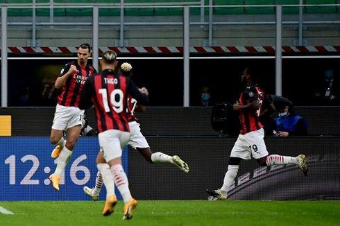 Hasil Inter Milan Vs AC Milan - Ibrahimovic 2 Gol, Rossoneri Sempurna