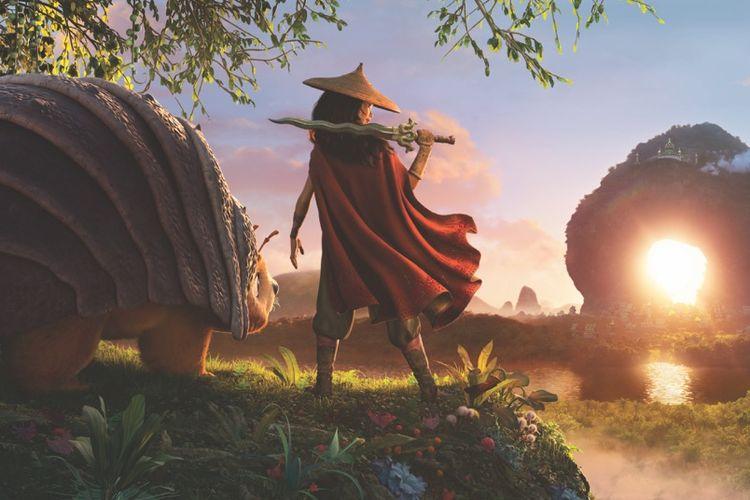 Foto perdana untuk film Walt Disney, Raya and The Last Dragon