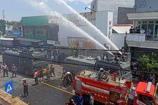 Sebuah Ruko Onderdil di Sumbawa Terbakar, Diduga akibat Kebocoran Tabung Gas