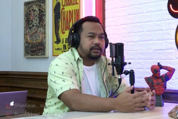 Pelawak Bedu menjadi tamu di podcast SULE Channel.