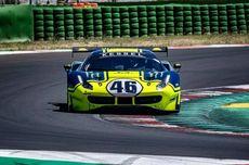 Valentino Rossi Jajal Ferrari 488 GT di Misano