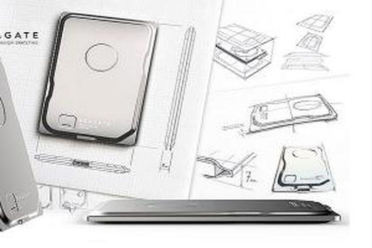 Seagate Seven, hard drive portabel dengan ketebalan 7 milimeter