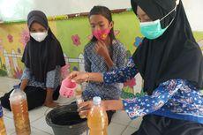 Inovasi Anak SD di Jambi, Olah Sampah Kulit Buah Jadi Cairan Pembersih Lantai