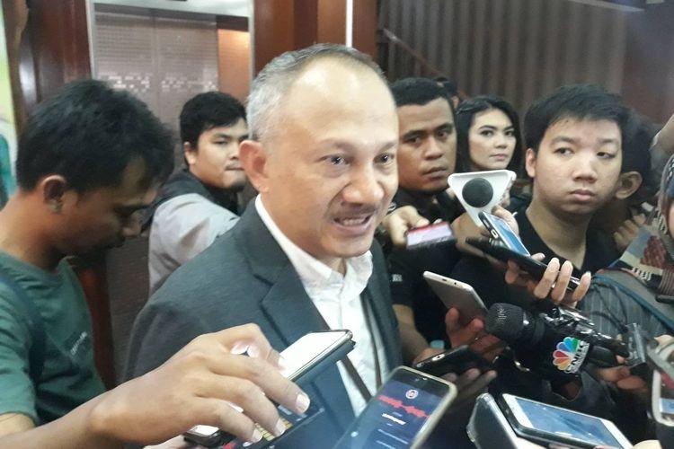 Deputi bidang SDM Aparatur Kementerian Pendayagunaan Aparatur Negara, Reformasi-Birokrasi (Kemenpan RB) Setiawan Wangsaatmaja di Gedung Kemenpan RB, Jakarta Selatan, Senin (27/1/2020).