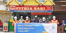 Dorong Geliat Perekonomian Daerah, PGN Salurkan Gas Bumi ke Pelanggan Baru