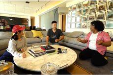 Berwajah Serius, Indra Priawan Saat Sukses Tipu Marshel Widianto