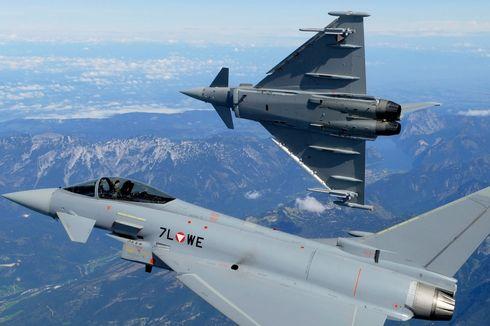 Seperti Ini Spesifikasi Jet Tempur Eurofighter Typhoon Incaran Menhan Prabowo...