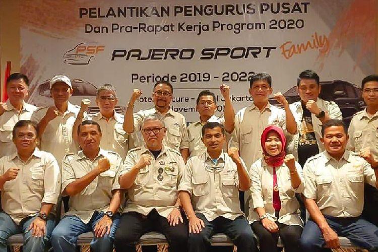 Pelantikan Pengurus Pusat Pajero Sport Family 2019-2020