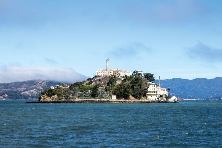 Penjara Alcatraz di San Francisco yang kini menjadi tempat wisata di Amerika Serikat (PIXABAY/Bettina Nørgaard).