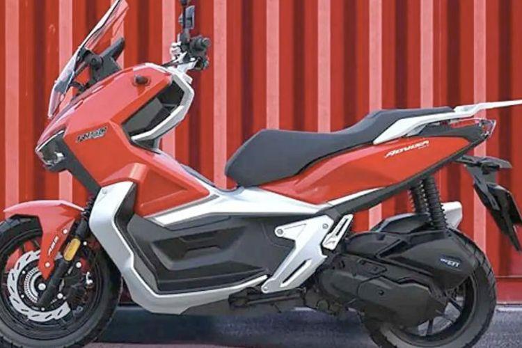 MotoSuper Advisa 150, skutik petualang dari China, pesaing Honda ADV 150
