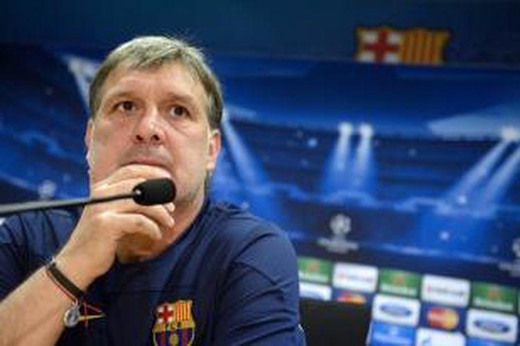 Pelatih Barcelona Gerardo