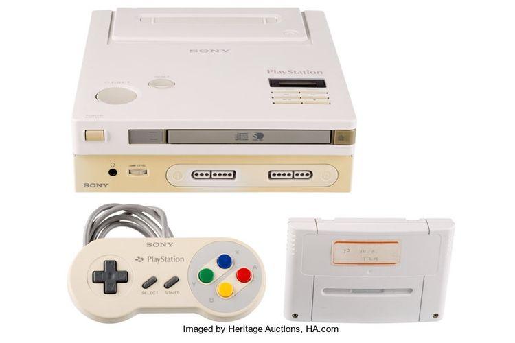 Konsol Game Super Langka Nintendo PlayStation Terjual Rp 5