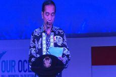 Berbatik Hitam, Jokowi Baca Puisi di Our Ocean Conference 2018