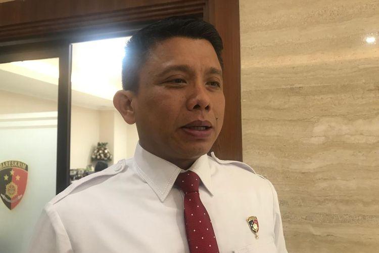 Direktur Tindak Pidana Umum Bareskrim Polri Brigjen (Pol) Ferdy Sambo di Gedung Bareskrim, Jakarta Selatan, Kamis (27/2/2020).