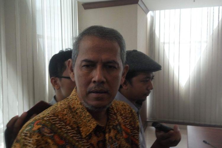 Kepala BPKH Anggito Abimanyu di Jakarta, Kamis (24/1/2019).