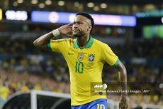 Cetak Gol untuk Brasil, Neymar Butuh Satu Gol Lagi demi Samai Ronaldo