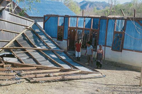 Puting Beliung Terjang Kabupaten Timor Tengah Utara, 5 Rumah Rusak Berat
