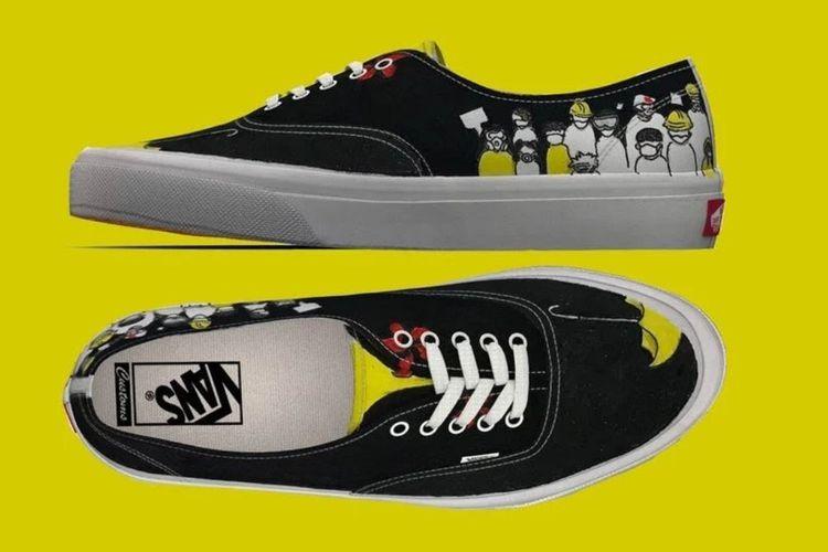 Desain sneakers Pro-Hong Kong di kompetisi desain  Vans? Global Custom Culture